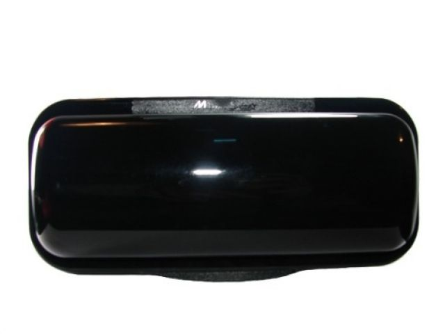 Protetor Frontal de CD Player Marine Star - Cor: Lente: Preta, Base: Preta